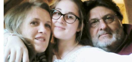 Rodzina w komplecie: Giorgia, Agnieszka i Calogero; foto: Archiwum Agaty Miśkowiec